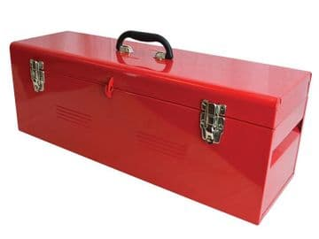 Metal Heavy-Duty Toolbox & Tote Tray 26in